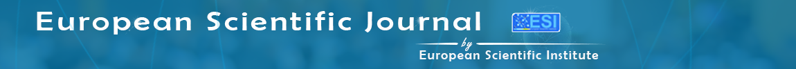 European Scientific Journal